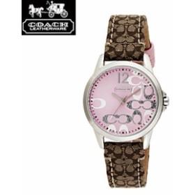 507b4ea7444b COACH コーチ 14501621 ニュー クラシックシグネチャー ピンク×シルバー 腕時計 ウォッチ レディース/import