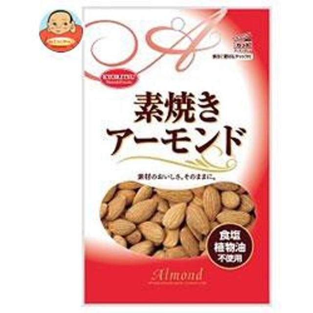 【送料無料】 共立食品  素焼き アーモンド チャック付  80g×10袋入