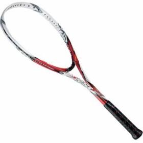 ミズノ(MIZUNO) ソフトテニスラケット XYST T1 レッド×ホワイト 63JTN52162 1U 【軟式テニスラケット ソフトテニス 未張り上げ フレー