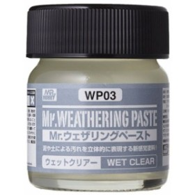 Mr.HOBBY WP03 Mr.ウェザリングペースト ウェットクリアー 《メイクアップ材》