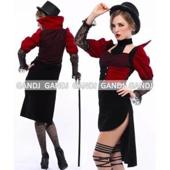 吸血鬼 コスプレ ハロウィン 仮装 コスプレ ヴァンパイア 衣装 セクシー 女性 コスチューム 衣装7837