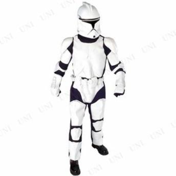 !! DX クローントルーパー 大人用 XL 仮装 衣装 コスプレ ハロウィン 余興 大人用 コスチューム メンズ ディズニー スターウォーズ グッ