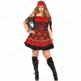 !! パイレーツヴィクセン 3X-4X 衣装 コスプレ ハロウィン 仮装 余興 大人 大きいサイズ 女海賊 レディース コスチューム 大人用 女性用