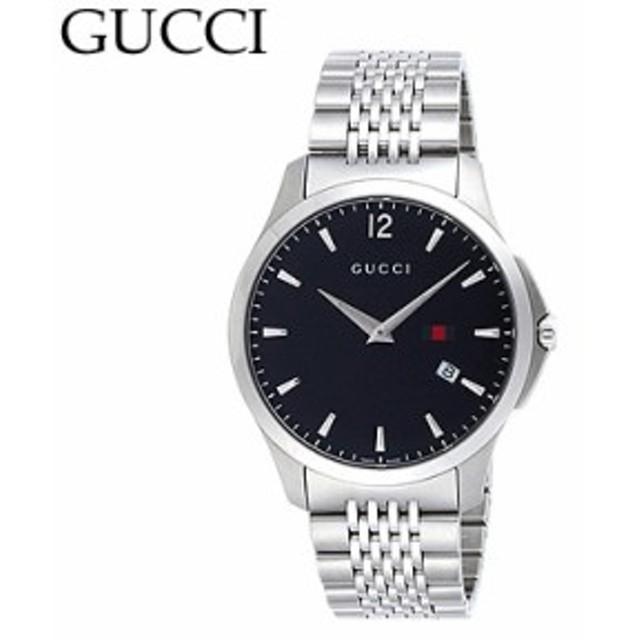 c2bece6b2f5c グッチ YA126309 メンズ Gタイムレス スリム デイト ブラック 腕時計 GUCCI/ya126309 /import