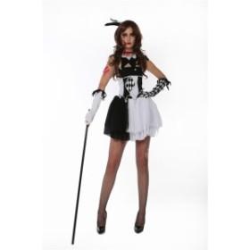 5a35af73e380f 5setコスプレ 道化師ドレス クラウン 吸血鬼 コスチューム ハロウィン衣装 仮装パーティー ワンピース