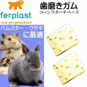 送料無料 ウサギ・ハムスター用歯磨きガム真空パック チーズ型 Fa311