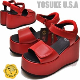 YOSUKE U.S.A 厚底サンダル レディース
