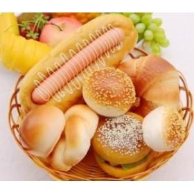 食品サンプル ふっくらパン 8個 カゴ入り (C)