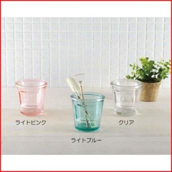 花瓶 ガラス 一輪挿し アンティーク レトロ おしゃれ ロストミリー ポットガラスベース クリアー