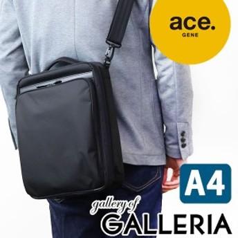 【商品レビューで+5倍】ace.GENE エースジーン フレックスライトフィット FLEX LITE Fit 2WAY ショルダーバッグ (A4対応) メンズ 54554