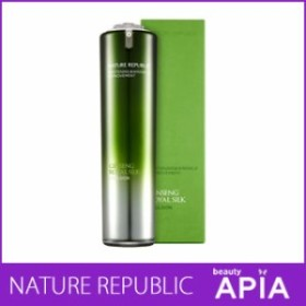 NATURE REPUBLIC (ネイチャーリパブリック) - ジンセン ロイヤル シルク エマルジョン (120ml / 金 40ppm 含有) 韓国コスメ