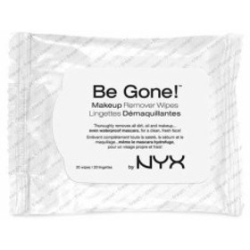 NYX Be Gone Makeup Remover Wipes /NYX メイクアップリムーバーワイプ