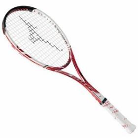 ミズノ(MIZUNO) ソフトテニスラケット ディープインパクト Z-500 ルビーレッド 63JTN67062 【軟式テニスラケット 未張り上げ ソフトテ