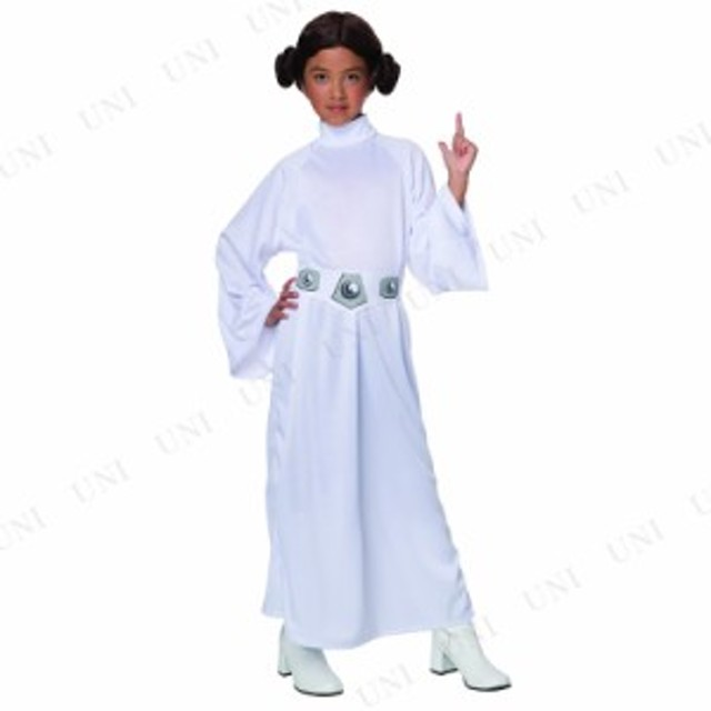 736dce8862c70 DX レイア姫 子供用 M コスプレ 衣装 ハロウィン 仮装 子供 スターウォーズ グッズ コスチューム 子ども