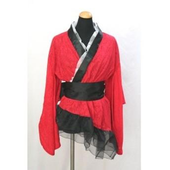 セクシードレス 着物 ドレス コスプレ衣装 コスチューム 透けミニワンピース 花魁 マイクロミニ セクシー cos5088c