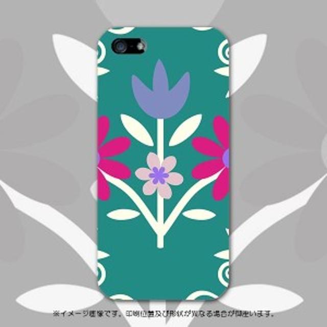 iphone5 アイフォーン5 apple スマホケース 007452 フラワー ハードケース スマートフォン カバー