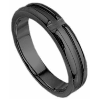 刻印無料 ブラックシルバー シンプル ペアリング マリッジリング 結婚指輪 メンズ単品|雑誌掲載人気ブランド|プレゼント推奨|95-2019B
