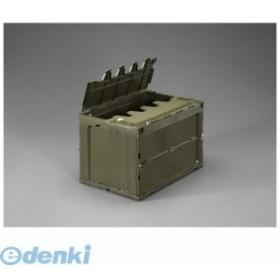 【個人宅配送不可】[EA506AA-9D]「直送」648x440x419mm/92.2L 折畳コンテナ(OD/蓋付)【キャンセル不可】