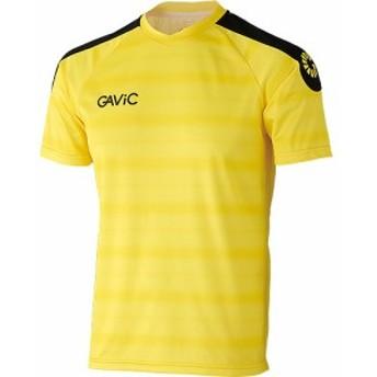 ガビック(GAVIC) ゲームシャツ S/S GA6163 イエロー 【サッカー フットサル トレーニングウェア プラシャツ 半袖】
