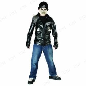 !! デスライダー 子供用 M 仮装 衣装 コスプレ ハロウィン 子供 コスチューム 子ども用 キッズ こども パーティーグッズ 骸骨 ガイコツ