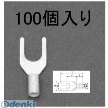 [EA538MP-8] 0.75 - 4mY形裸圧着端子(100個入) EA538MP8【キャンセル不可】