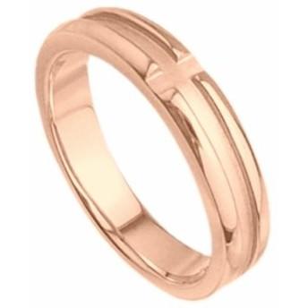 刻印無料 ピンクシルバー シンプル ペアリング マリッジリング 結婚指輪 メンズ単品|雑誌掲載人気ブランド|プレゼント推奨品|95-2019P