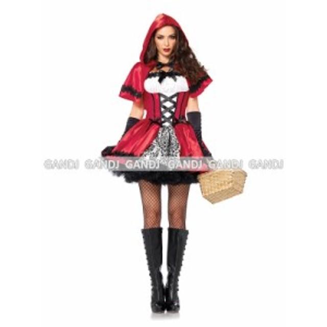 赤ずきん  コスプレ衣装 ハロウィン衣装 童話  コスプレ ハロウィン コスチューム 7795