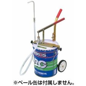 ペール缶ハンドポンプ キャスター付 STRAIGHT/36-1930 (STRAIGHT/ストレート)