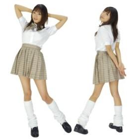 schoolgirl中等部ベージュコスプレ衣装・コスチューム