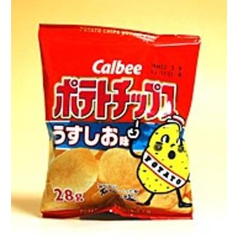 カルビー ポテトチップス うすしお味 28g【イージャパンモール】