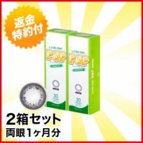 エルコンワンデーポップ プレミアムリッチブラック 30枚 ×2箱 1day カラーコンタクトレンズ キャッシュレス5%還元