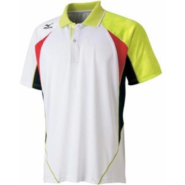 ミズノ(MIZUNO) ゲームシャツ 62JA601573 【バドミントンウェア テニスウェア 半袖 メンズ レディース】