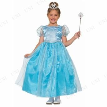 コスプレ 仮装 ブループリンセス 子供用 M コスプレ 衣装 ハロウィン 仮装 子供 コスチューム 子ども用 キッズ こども パーティーグッズ