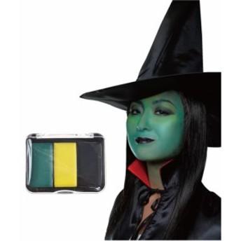 HWO ハロウィン メイクグッズ リアルメークパレット ウィキッド 仮装 メイクアップ