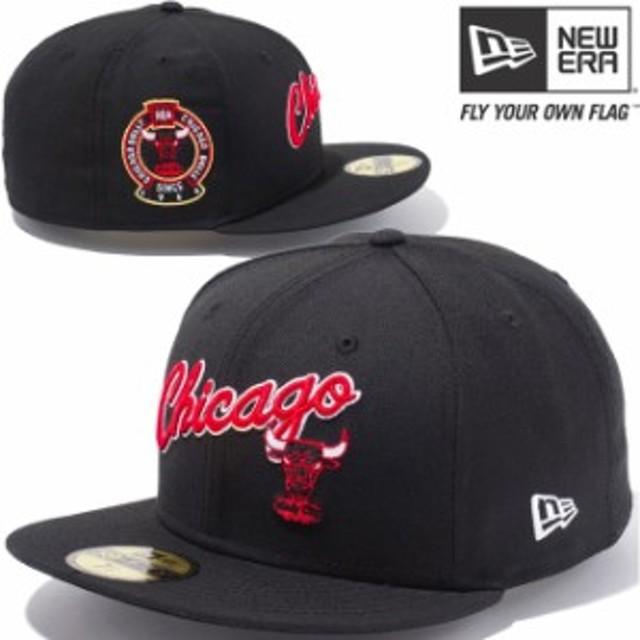 【新品】 ニューエラ 5950キャップ マルチロゴ NBA シカゴブルズ スクリプト ハードウッドクラシックス ブラック New Era newera
