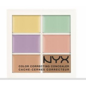 NYX Conceal, Correct, Contour Palette /NYX カラーコレクティング コンシーラーパレット 色[04 Color Correcting]