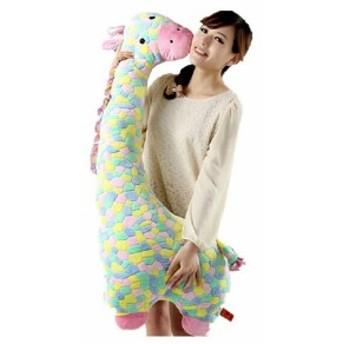 ぬいぐるみ 特大 鹿/キリン 大きい 動物 80cm 可愛い しかぬいぐるみ/鹿縫い包み/麒麟抱き枕/お祝い/ふわふわぬいぐるみ