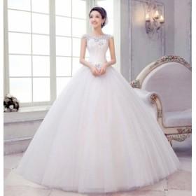 ファッション ウェディング ドレス パーティードレス カラードレス 可愛いワンピース 結婚式 演奏会 披露宴 花嫁4セット