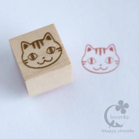 ねこはんこ(とら)・トラ猫柄スタンプ/Z15