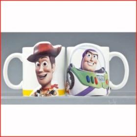 トイストーリー ウッディ バズ マグカップ ディズニー 食器セット  ペアマグ ウッディ&バズ・ライトイヤー