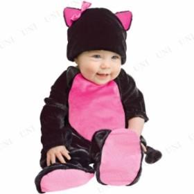 !! ブラックキティ ベビー用 L 仮装 衣装 コスプレ ハロウィン 子供 コスチューム 動物 アニマル ベビー ネコ 子ども用 キッズ パーティ