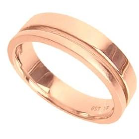 刻印無料 ピンクシルバー シンプル ペアリング マリッジリング 結婚指輪 メンズ単品 雑誌掲載人気ブランド プレゼント推奨品 95-2015P