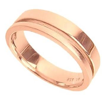 刻印無料 ピンクシルバー シンプル ペアリング マリッジリング 結婚指輪 メンズ単品|雑誌掲載人気ブランド|プレゼント推奨品|95-2015P