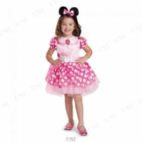 ピンクミニーマウス クラシック チュチュ 女の子用 M(7-8) 仮装 衣装 コスプレ ハロウィン コスチューム 子供 キッズ 子ども用 アニメ デ