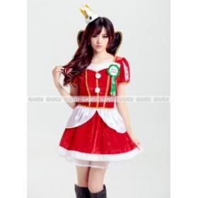 クイーン クリスマス コスプレ コスチューム クリスマス衣装 仮装 サンタ コスプレ サンタクロース サンタコス