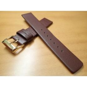 9cdc8973b1 18mm 20mm 時計バンド (腕時計) ベルト カーフ 牛革 ダークブラウン バネ棒 サービス 腕時計
