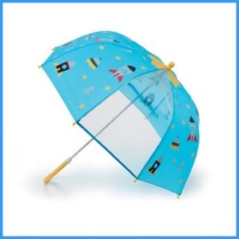 キッズ|レイングッズ|雨具|カサ|傘|ピチョン キッズアンブレラ エイリアン