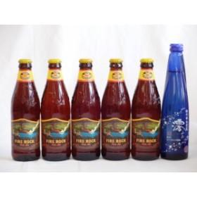 クラフトビールパーティ6本セット ハワイコナビール(ビッグウェーブ・ゴールデンエール355ml×5)日本酒スパークリング清酒(澪300ml)お歳
