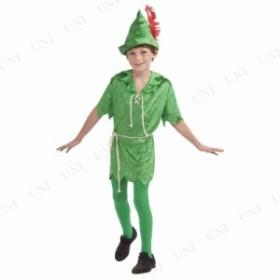 ピーターパン 子供用 L 仮装 衣装 コスプレ ハロウィン 子供 コスチューム 童話 男の子 ピーターパン 子ども用 キッズ こども パーティー