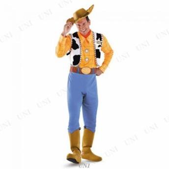 【送料無料】DXウッディー 大人用 XL(42-46) 仮装 衣装 コスプレ ハロウィン 余興 大人用 メンズ ディズニー コスチューム 大きいサイズ